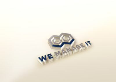 WE MANAGE IT LOGO DESIGN