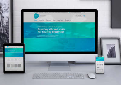 DENTAL MANAGERS WEBSITE DESIGN AND DEVELOPMENT