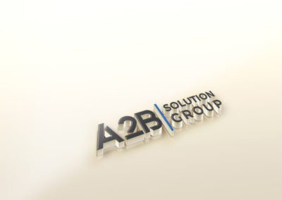 A2B SOLUTION GROUP LOGO DESIGN AND BRANDING