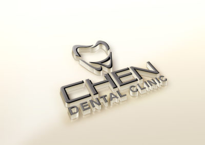 Chen Dental Clinic Logo and Web Design