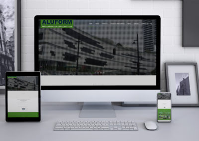 Aluform Website Design & Development